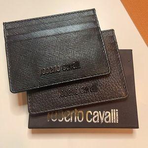Roberto Cavalli Card Cases x 2